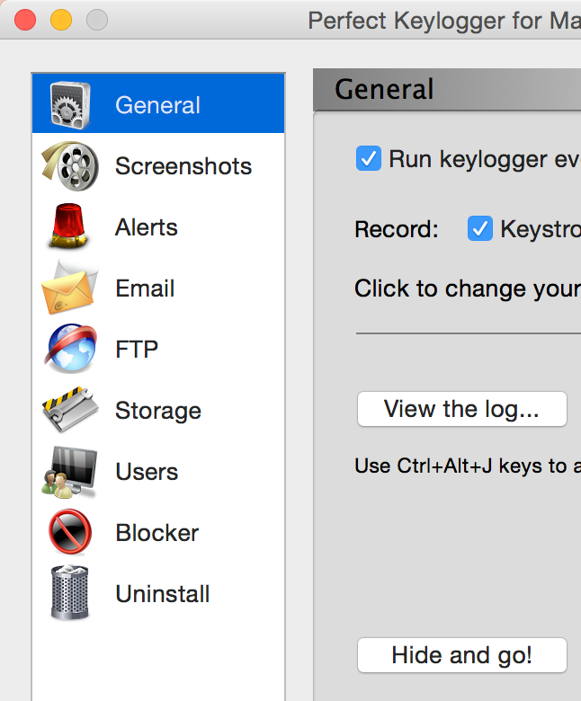 Retina display support in Perfect Keylogger for Mac